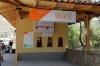 Inca Rail Ticket Office in the street about 100m outside the station premises at Ollantaytambo