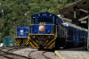 Peru Rail MLW DL535's #482 & #484 waits their next turns at Machu Picchu Station