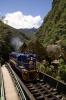 Peru Rail GM G22 #510 arrives into Machu Picchu with train 33 0742 Cusco Poroy - Machu Picchu (Expedition)