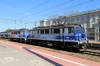 PKP IC EP07-448 & EP07-1068 wait the road at Gdansk Glowna