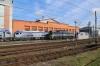 Pesa Bydgoszcz Works (L-R) - PKP IC SU160-003, PPM-T M62-1705 & PKP IC SU160-001
