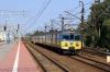 Half of SKM EN57-1120 & half of SKM EN57-1759 arrive into Gdynia Glowna with SKM 97696 0940 Wejherowo - Gdansk Srodmiescie