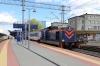 PKP IC SM42-462 at Bydgoszcz Glowny having shunted the two coaches of TLK85152 0936 Szczecin Glowny - Bydgoszcz Glowna onto the rear of TLK53106 1358 Bydgoszcz Glowna - Przemysl Glowny
