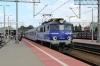 PKP IC EP07-1063 waits departure from Gdynia Glowna with TLK58103 1320 Olsztyn Glowny - Szczecin Glowny