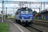 PKP IC EP07-1048 drops onto TLK51156 1406 Leba - Warszawa Zachodnia at Lebork; replacing PKP IC SM42's 342 & 132 which had arrived with the train from Leba in T&T mode