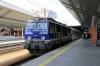 PKP EP09-010 at Krakow Glowny having arrived with EIC1323 0849 Warszawa Wschodnia - Krakow Glowny