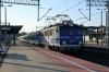 PKP IC EP07-1040 (L) stands at Gdynia Glowna after arriving with TLK45250 2214 (P) Katowice - Hel