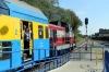 PR SU42-533 departs Kuznica (Hel) with R90509 0722 Chojnice - Hel