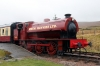 Hunslet Austerity 0-6-0ST WD71515 at Furnace Sidings after arrival with the 1245 Blaenavon HL - Furnace Sidings