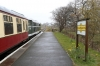 31203 waits departure from Blaenavon HL with the 1340 Blaenavon HL - Furnace Sidings