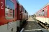 BDZ NG 75005 waits to depart Septemvri with 16105 1234 Septemvri - Dobrinishte