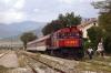 OSE MLW MX627 A467 waits to depart Strimon with 7670 1200 Strimon - Alexandroupouplis Port leg of the PTG Tour Day 1