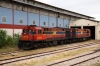 OSE MLW MX627's A454/A455 on shed at Alexandroupoulis