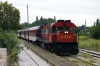 OSE MLW MX627 A456 waits at Toxotai with 7611 1152 Alexandroupoulis Port - Thessalonica leg of PTG Tour Day 4
