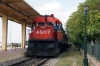 OSE MLW MX636 A507 waits to depart Alexandroupoulis Port with 7680 0936 Alexandroupoulis Port - Svilengrad leg of PTG Tour Day 2