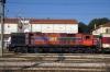 OSE MLW MX627 A462 waits to depart Idomeni with 7901 0920 Idomeni - Thessalonica leg of PTG Tour Day 6