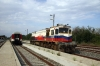 TCDD GM DE33029 heads off from Pyhtio back to Turkey, having arrived with 85004 1030 Tekirdag - Pythio leg of PTG Tour Day 3