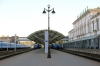 Vitebsk (L-R) - BCh 2M62U-270b with 6602 0834 Vitebsk - Ezerishe, BCh 2M62U-270a with 6641 0820 Vitebsk - Rudnya and 2M62U-271b with 6634 0844 Vitebsk - Polotsk