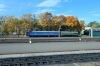 An unidetnified BCh M62 runs through Vitebsk station with a single coach; looks like it could be M62-778?