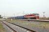 BCh TEP70-0379 departs Krichev 1 with 661b 0956 Orsha Central - Kommunary