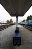 BCh TEP60-0149 (Ex 2TEP60-0049b) at Soligorsk after arrival with 613b 0627 Mogilev 1 - Soligorsk, 2M62U-0312a is in the background waiting to depart with 6524 1255 Soligorsk - Osipovichi 1