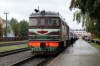 BCh TEP60-0149 (Ex 2TEP60-0049b) waits to depart Soligorsk with 614b 1426 Soligorsk - Mogilev 1, formed of portions for both Moscow & St Petersburg
