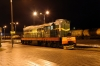 BCh ChME3-7419 at Kalinkovichi after shunting an observation coach onto the rear of 601f 1924 Gomel - Polotsk
