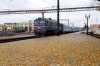 BCh 2M62U-0311b at Osipovichi 1 after arrival with 6586 1309 Mogilev 1 - Osipovichi 1
