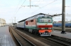 BCh TEP70-0428 at Brest Central after arrival with 675f 0537 Gomel - Brest Central