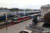 BCh TEP70-0214 waits to depart Brest Central with 606b 1715 Brest Central - Vitebsk