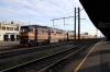 LDZ Cargo TEP70-0234 at Riga after arrival with combined trains 1 1704 Moscow & 37 1738 St Petersburg - Riga
