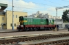 UZ ChME3-6752 runs through Kyiv Pas. to shunt the wagons off a freight that VL80K-646 had just arrived with