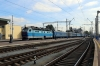 UZ ChS4-046 arrives into Kyiv Pas. with 84 1827 (P) Mariupol - Kyiv Pas.