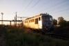 CFR Sulzer 621142 departs Carparti Halt with R7033 0725 Bucharest Nord - Urziceni