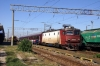 CFR 410891 at Ciulnita with IR1583 0945 Bucharest - Constanta; the next departure after this would be this loco/set returning!
