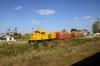 Sulzer 810931 shunting at Saratuica on the Slobozia Veche - Urziceni line