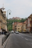 Romania, Brasov - Brasov Citadel from the Old Town