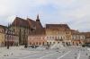 Romania, Brasov - Main square in the Old Town