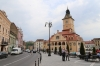 Romania, Brasov - Main square in the Old Town