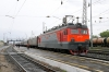 RZD EP1-057 waits to depart Tayshet (and join the Trans-Siberian from the BAM) with 075E 0457 (30/05) Neryungri Pas. - Moskva Kazanskaya