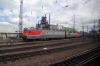 RZD VL85-162 at Ilanskaya with a container train