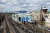 RZD EP1P-020 stabled on shed at Ilanskaya on the Trans-Siberian Railway
