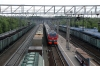 RZD EP2K-093 runs through Ob with 099E 0051 (28/05) Vladivostok - Moskva Yaroslavskaya