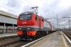 RZD EP2K-278 waits to depart Perm 2 with 099E 0051 (30/05) Vladivostok - Moskva Yaroslavskaya