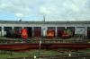 Perm 2 Locomotive Depot - TEM18DM-281, ChME3-4763 & ChME3-5097