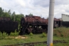 Perm 2 Locomotive Depot - Steam Loco L-4251 in a scrap line of three locos