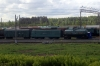 RZD convered VL?? locomotive stabled in Perm 2 Yard, which carries a number VL4551