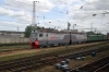 RZD 2ES10-005 stabled at Balezino Locomotive Depot