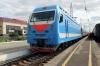 RZD EP1M-428 about to depart Balezino with 007E 1124 Perm 2 - Moskva Yaroslavskaya