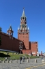 Russia, Moscow - Red Square, Nikolskaya Tower